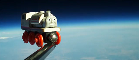 Toy-Train-In-Space