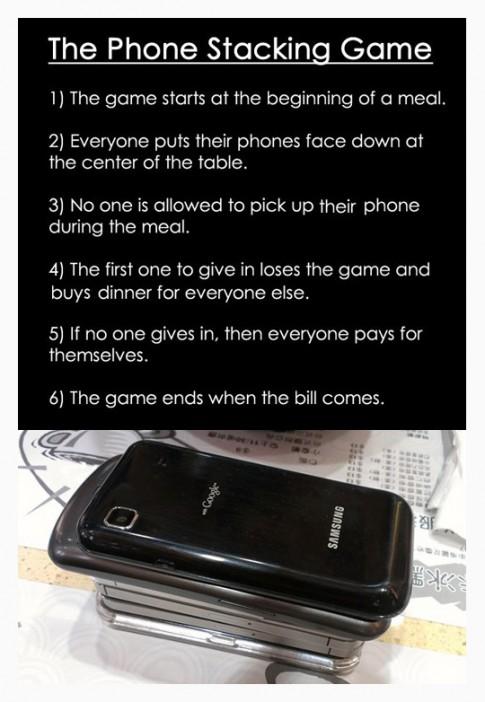 ThePhoneStackingGame