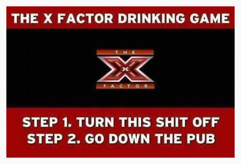 X-FactorDrinkingGame