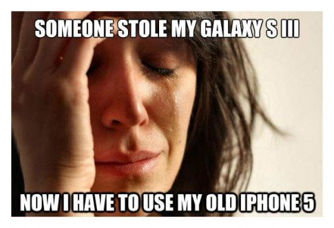 ScumbagFirstWorldProblems