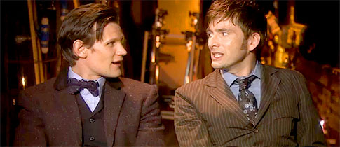 Matt-Smith-Meets-David-Tennant
