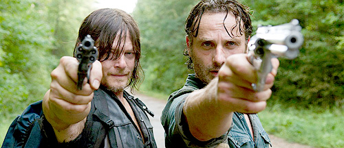 Norman-Reedus-and-Andrew-Lincoln