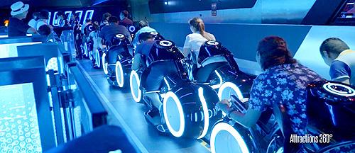 Amazing-TRON-Coaster-Ride-through---Shanghai-Disneyland