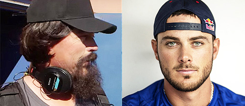 Baseball-Star-Kris-Bryant-Gets-Pranked-by-Hall-of-Famer-Greg-Maddux