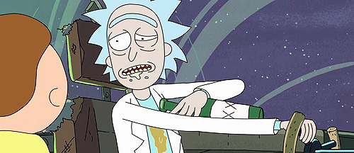 Drunk-Rick-Method-Acting-Rick-and-Morty