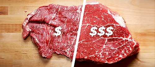 How-To-Cook-A-Cheap-Steak-Vs.-An-Expensive-Steak